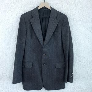 Calvin Klein | Brown Striped Wool Sport Coat Sz 36